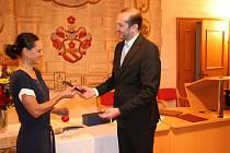 Kateřina Nash se stala Čestným občanem města Prachatice.
