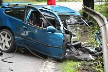 Smrtí jednoho z řidičů skončila středeční nehoda u motorestu Skalka ve Vimperku.