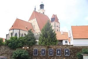 Kostel sv. Jakuba v Prachaticích.
