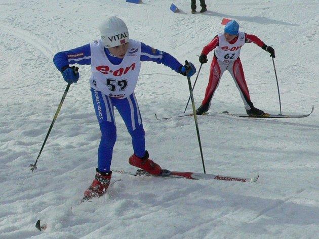 Skiareál Vodník hostil oblastní kolo závodu Hledá se nová K. neumannová.