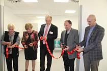 Nový urgentní příjem v prachatické nemocnici byl slavnostně otevřen v pondělí 6. ledna.