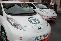 Správa NP Šumava má k dispozici několik elektromobilů.