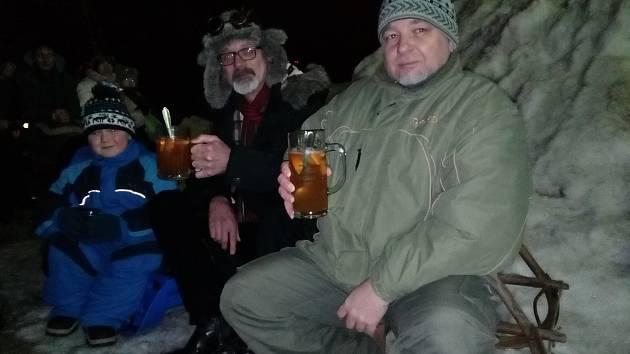 Vyrazit v pátek v podvečer do kina, proč ne, ale Volarští se rozhodli pro zimní kino.