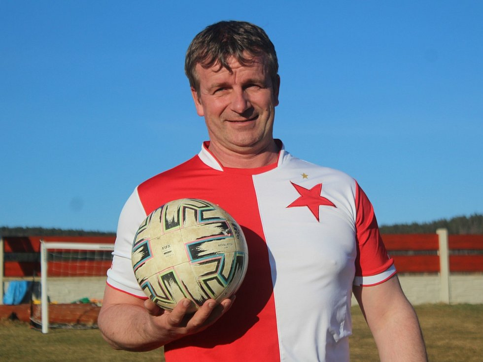 Václav Hovorka patří k největším osobnostem fotbalu na Prachaticku.