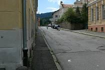 Lázeňská ulice.
