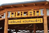 Veřejné koupaliště Hulák v Prachaticích.