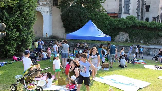Piknik v Parkáně v Prachaticích.