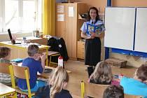 Martina Joklová četla z Policejních pohádek.
