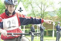 Cyklistická olympiáda v Prachaticích