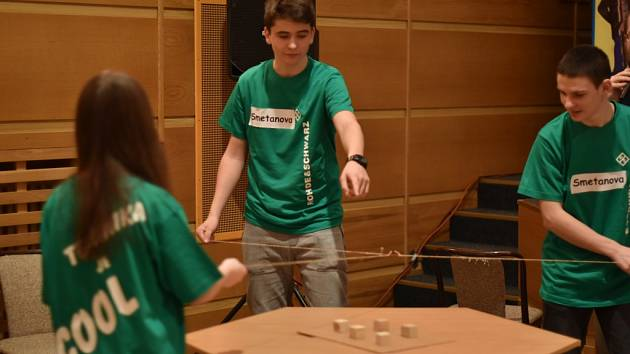 Ve vimperském MěKS v pátek 17. února soutěžili školáci nejen ve fyzice.