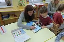 V mateřské škole se konaly zápisy nanečisto.