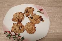 Zdravé cookies bez cukru podle Radky Třískové.