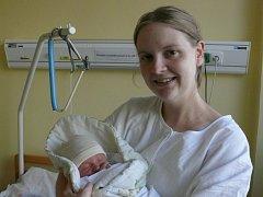 Marek Türk se narodil v prachatické porodnici v pátek 11. listopadu v 10.52 hodin. Při narození mu sestřičky navážily rovné tři kilogramy. Rodiče Lucie a Stanislav si prvorozeného syna odvezli domů, do Prachatic.