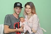 Sofie MAŘÍKOVÁ, Čkyně.Narodila se ve čtvrtek 20. prosince v 11 hodin a 25 minut ve strakonické porodnici. Vážila 2850 gramů. Rodiče: Veronika a Štěpán.