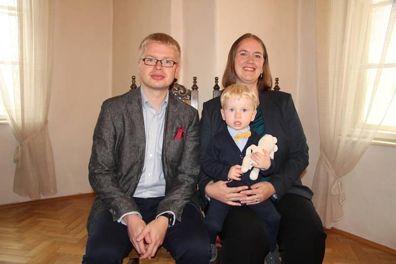 Martin Fulín s rodiči.