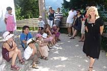 Dobrodružnou pohádkovou plavbu v Rakousku si děti užily.