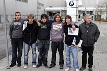 Na návštěvě v BMW.