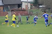 Fotbalová B třída: Prachatice B - Sousedovice 3:2.