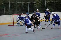 Hokejbalová liga žen - turnaj v Prachaticích.