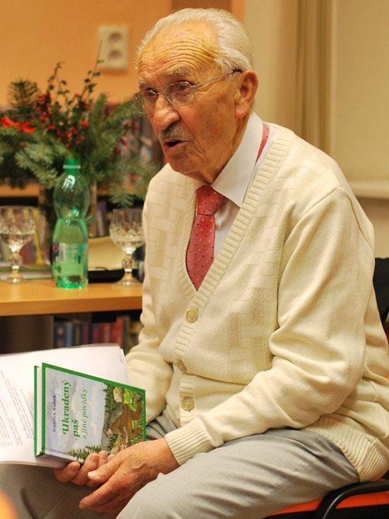 Autor knih František Kadoch z Vimperka přestavil veřejnosti tu poslední s názvem Ukradený a paš a jiné povídky.