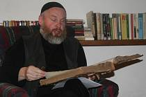 Jaroslav Pulkrábek křtil již třetí knihu Pověstí ze Šumavy.