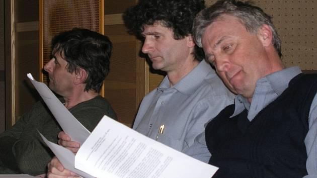 Vimperští zastupitelé při pondělním jednání