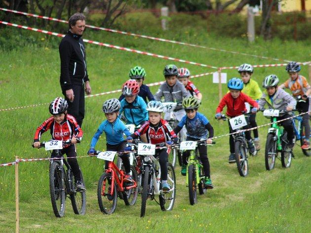 První závod Cyklistických MTB střed mají bikeři za sebou, zítra je čeká další.