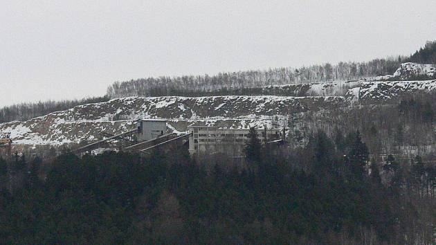 Lom Kobylí hora.