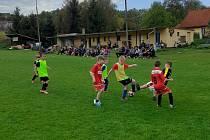 Nejmenší fotbalisté Tatranu se těší na zápasy. Ilustrační foto.