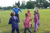 Můj první gól - nábor fotbalistů ve Strunkovicích.
