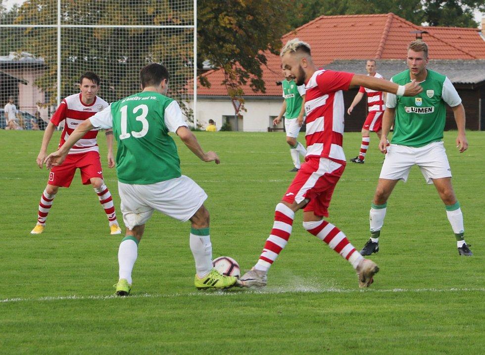 Fotbalová I.B třída: Lhenice - Boršov 0:0.