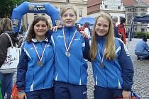 Na olympiádě se vimperským závodnicím podařilo vybojovat cenné medaile.