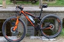 Jedno z ukradených jízdních kol.
