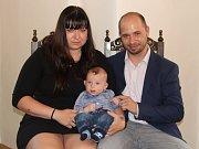 Petr Kaštánek s rodinou.