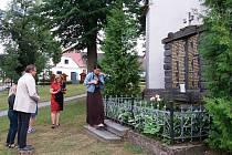 Vzpomínku na Františka Lohoňku uspořádali v Záblatí.