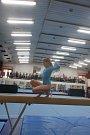 Vimperským gymnastkách se při dvojboji dařilo.