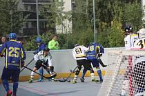První liga hokejbalu: HBC Prachatice - HBC Nové Strašecí 3:6.