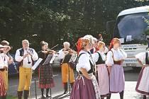 Oslava 130. výročí otevření rozhledny na Libíně.