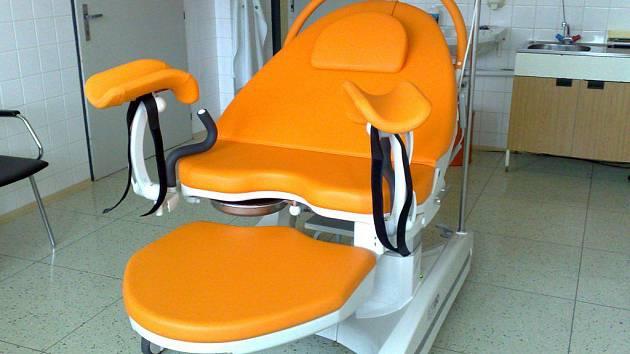 Nové porodnické lůžko v prachatické nemocnici.
