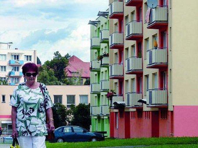 MÍST PRO HNÍZDĚNÍ UBÝVÁ. Většina panelových domů v Prachaticích se už dočkala svých oprav. Zateplovací úpravy jsou hrozbou pro populaci rorýsů a dalších vzácných živočichů.