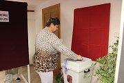 Prezidentské volby v Husinci.