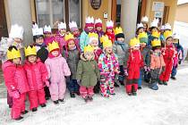 Děti ze zdíkovské školky.