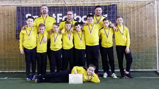 Starší přípravka Tatranu skončila na turnaji v Oseku druhá.