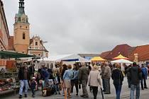 Jarmark sv. Jiljí ve Lhenicích nezkazilo ani deštivé počasí.