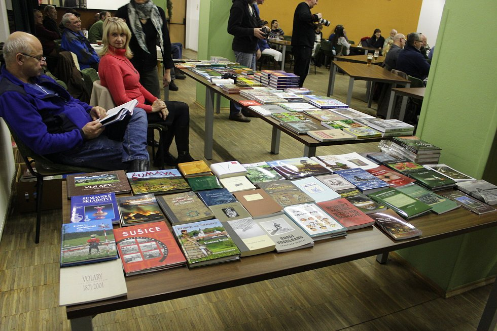 Ivo Stehlík pustil do světa novou knihu Šumava domovem.