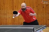 Soutěže stolních tenistů pokračovaly dalším kolem.