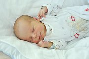 Denis BERÁNEK, Volary. Narodil se 12. listopadu ve 13 hodin a 42 minut ve strakonické porodnici, vážil 2800 gramů. Je prvorozený. Rodiče: Markéta a Lukáš.