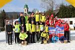 Výprava Fischer Ski klubu spolu s kamarády z Jilemnice.