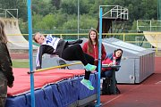 Mladší žactvo absolvovalo atletický Pohár rozhlasu na stadionu v Prachaticích.