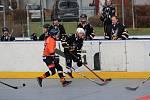 Hokejbalová druhá liga: HBC Prachatice - HC ŠD Písek 0:6.